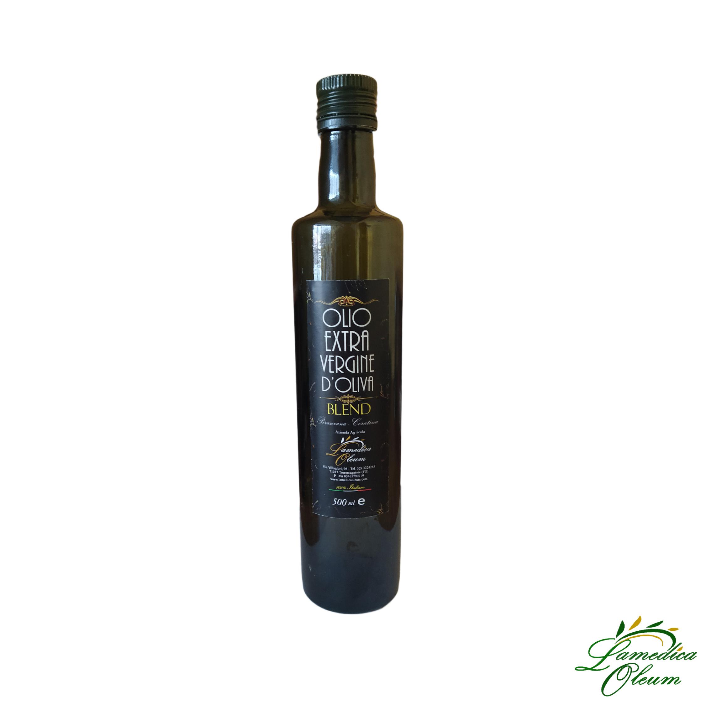 Olio Extravergine d'Oliva Blend Peranzana-Coratina Dorica 500ml